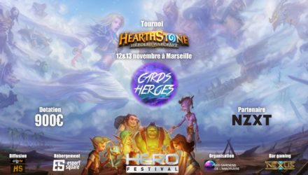 bonne photo tournoi Card heroes