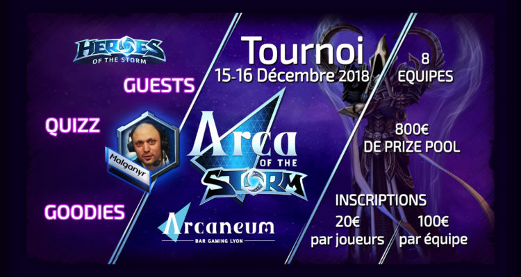 Arca of the Storm #2 site